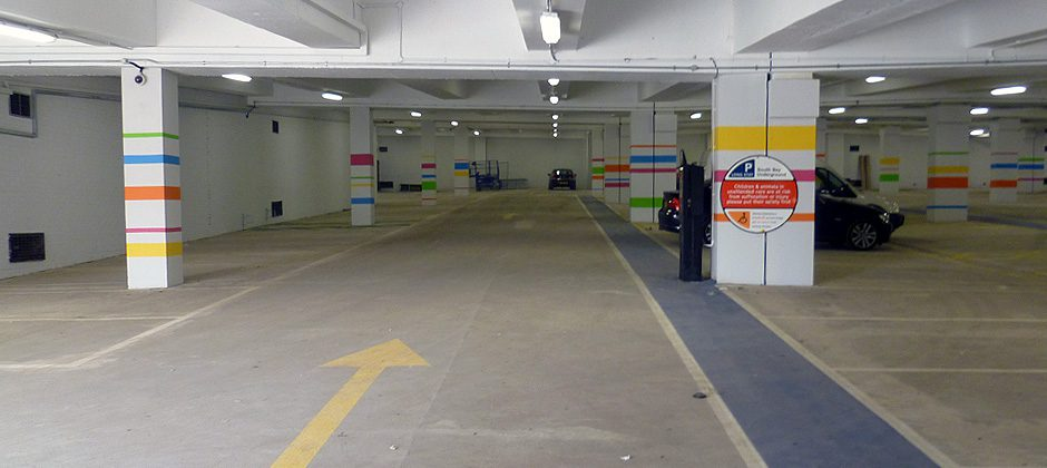 basement car park where structural waterproofing is required