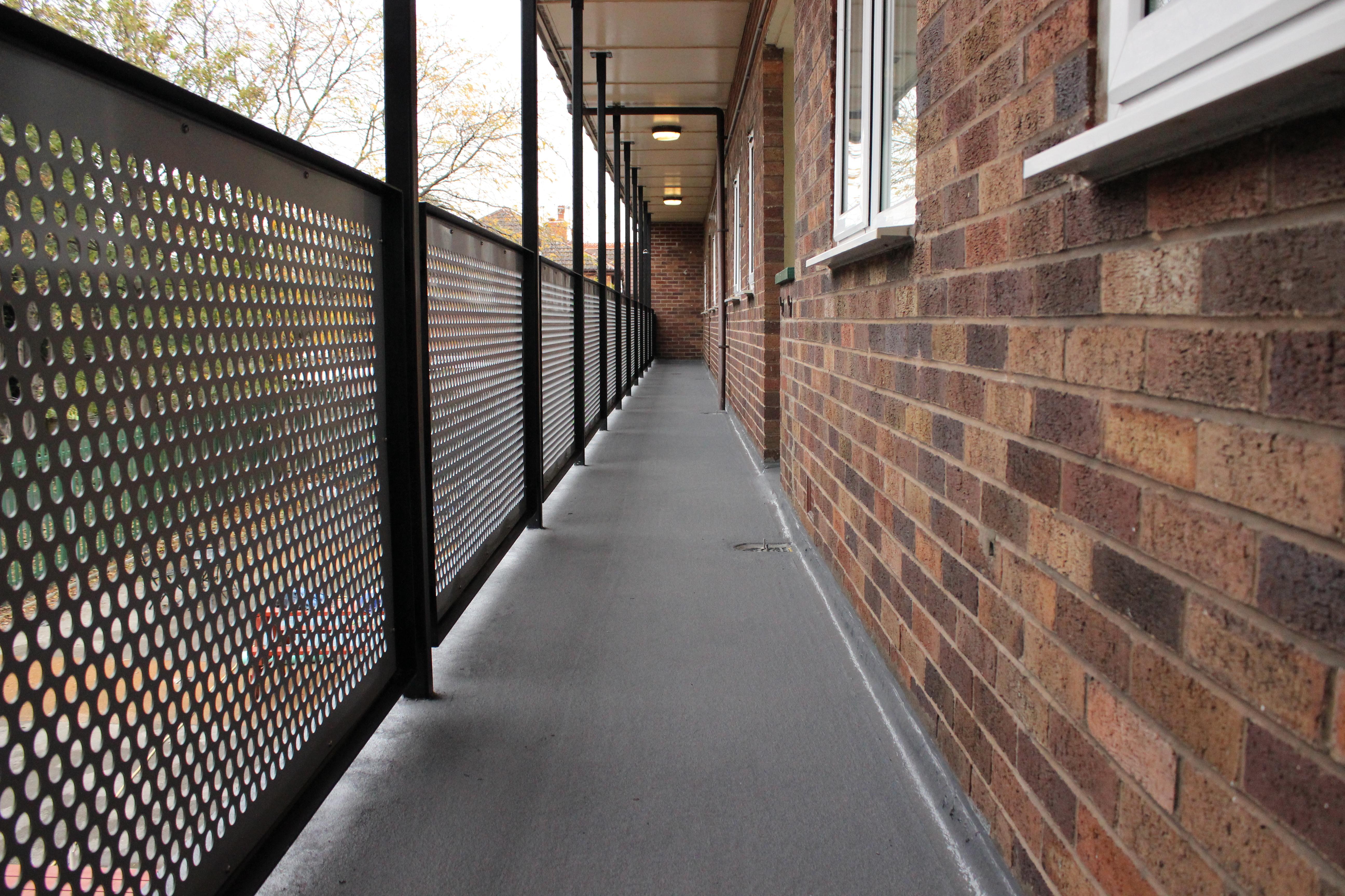 Balcony repairs refurbishment stockport specialist uk for Balcony repairs