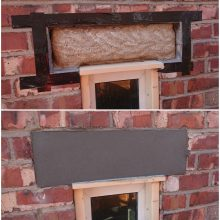 Stockport Concrete repairs to window head in Stockport
