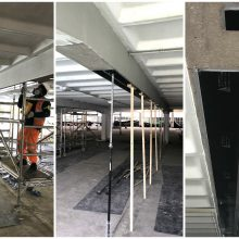 Carbon Fibre Plate Installation at Manchester Airport